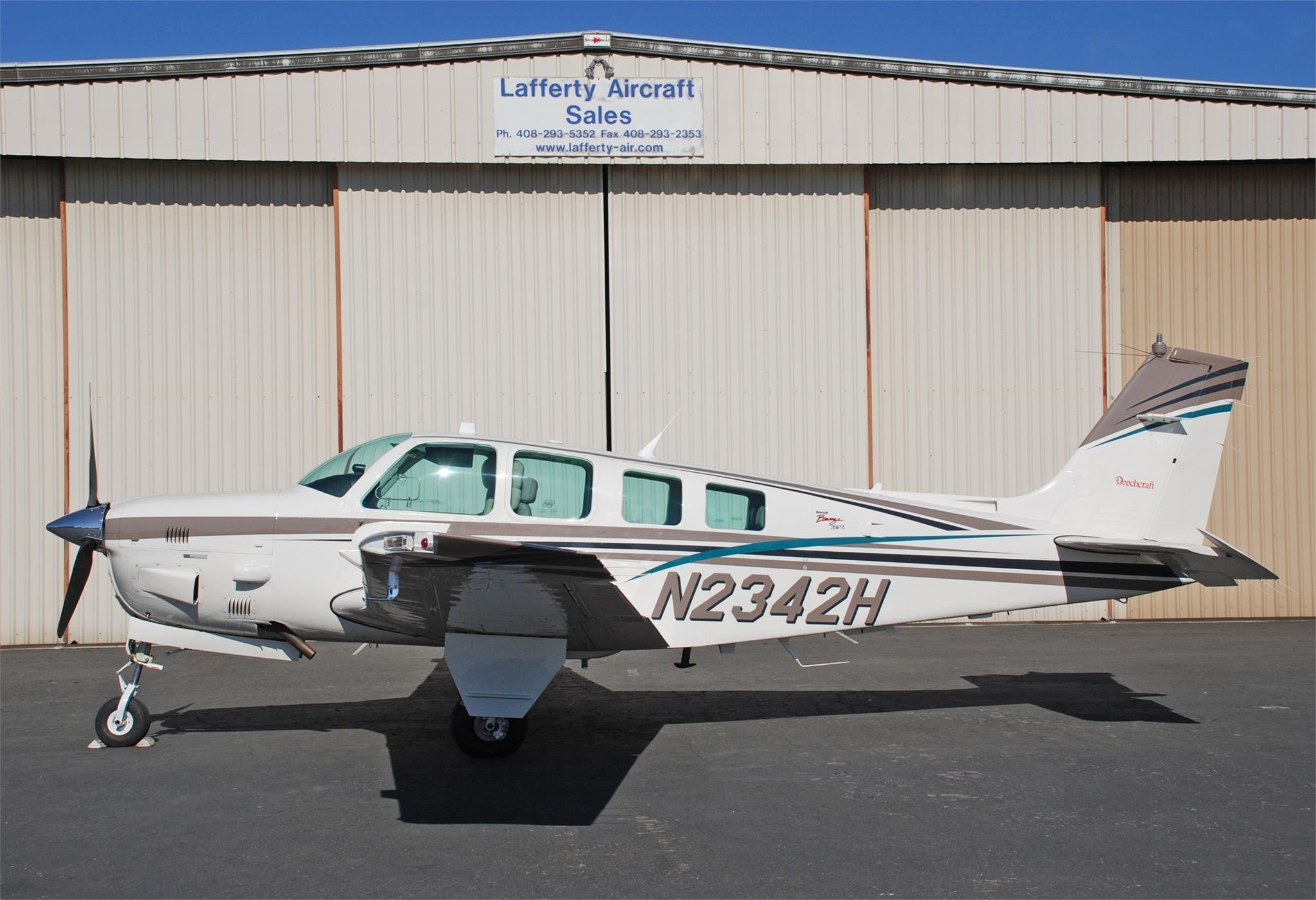 1998 Beechcraft Bonanza B36TC – Price: Call – Airplane