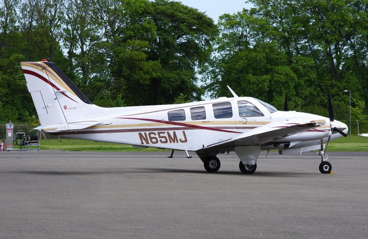 Airplane-for-sale-Beechcraft-Baron-58P