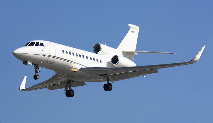 Jet For Sale Falcon900