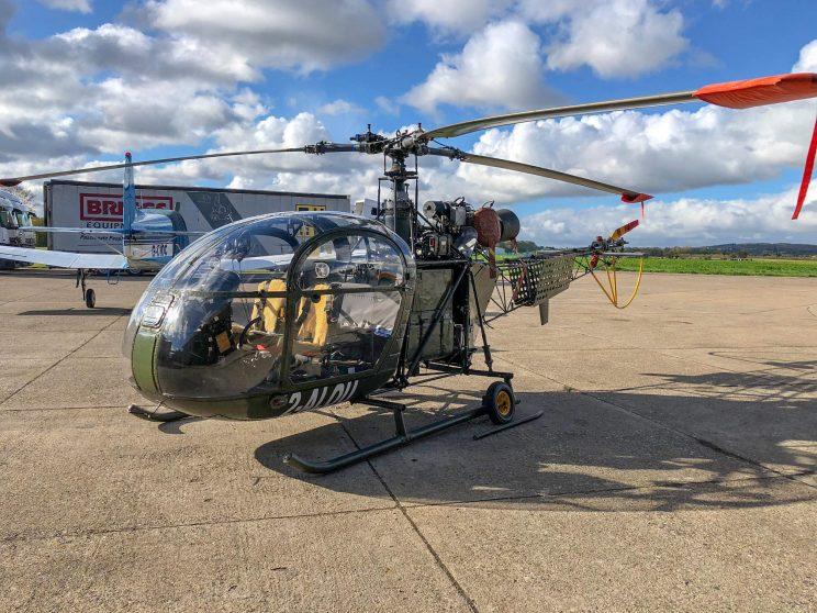 Helicopter For Sale Aerospatiale Alouette II 313B