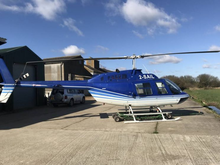 Helicopter for sale Bell 206B Jetranger