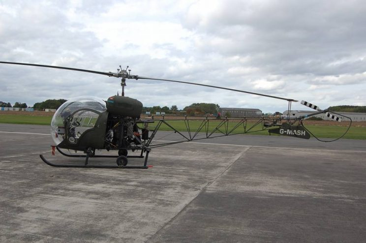 Helicopter-for-sale-Bell-47G