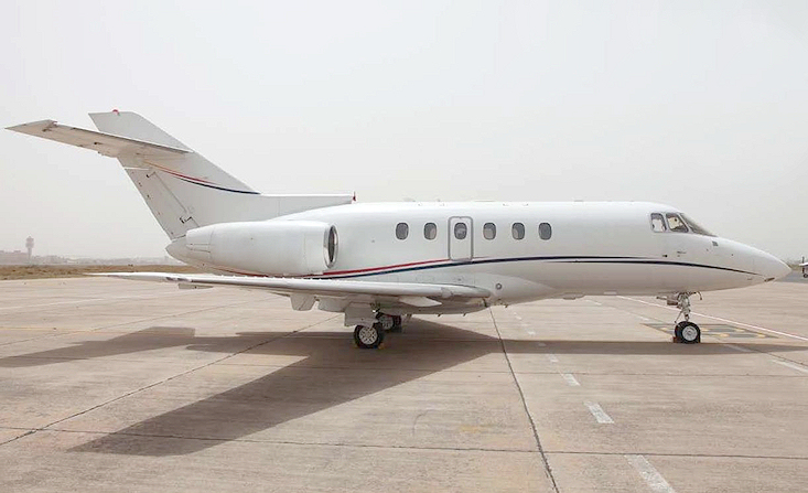 Jet for sale Hawker 750